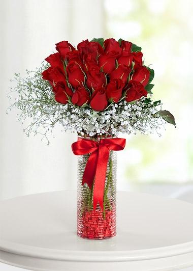 VAZODA 20 GÜL - ısparta çiçek siparişi