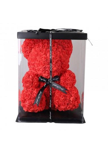 VIP TEDDY ROSE BEAR GÜL AYICIK - ısparta çiçekçi