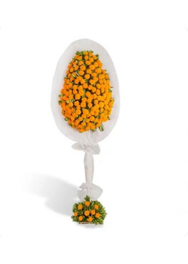 TEK KATLI GİNYA SEPETİ - ısparta çiçek