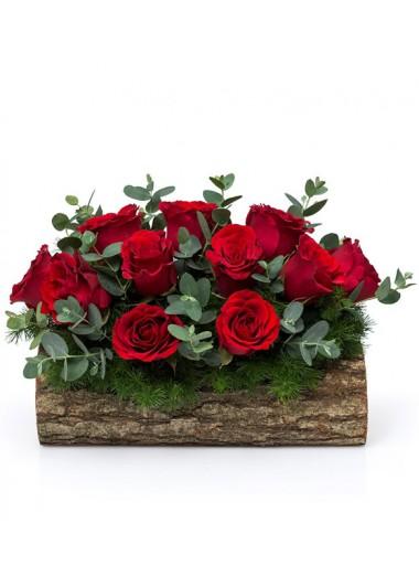 DOĞAL KÜTÜKTE GÜL BAHÇESİ - ısparta çiçekçi